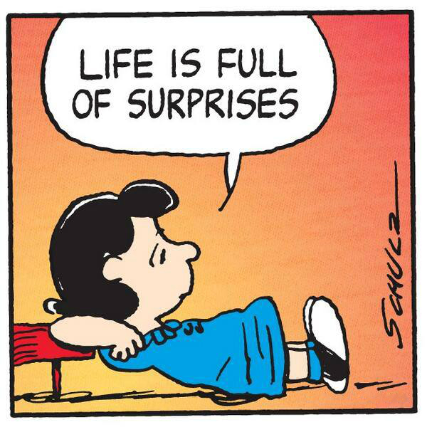 life is full of surprises Every single one of us is working toward one or more goals in our life and some  days, no matter how hard we try to reach the next step of our.